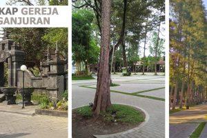 Mengulas lansekap Gereja HKTY Ganjuran, Yogyakarta