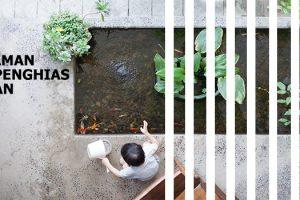 Tanaman air penghias taman